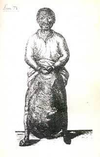 negro descrito por Antonio Parra